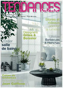 Couverture de tendances magazine n°57 du mois de Mai